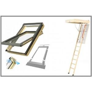 Мансардные окна и чердачные лестницы