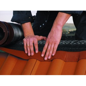 Вентиляционный рулон конька/хребта DELTA®-VENT ROLL