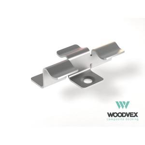 Клипса крепления для ДПК  WOODVEX (Южная Корея)