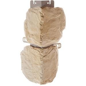 Наружный угол Альта-Профиль Бутовый камень