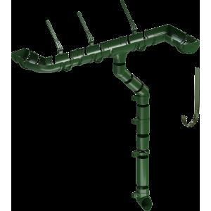 Желоб водосточный 2 м Деке Стандарт